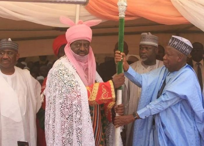BREAKING!!! Kano State Government Installs Son Of Former Emir Aminu Bayero As The New Emir Of Kano State