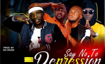 """ARTISTES!!!! Participate In The Honoured Guy x Dr Crude x Mode Real x Alaye Proof """"Say No To Depression"""" Challenge"""