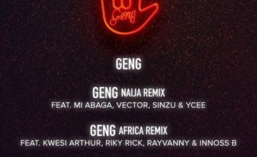 Mayorkun ft. Ms Banks & RussMB - Geng (UK Remix)