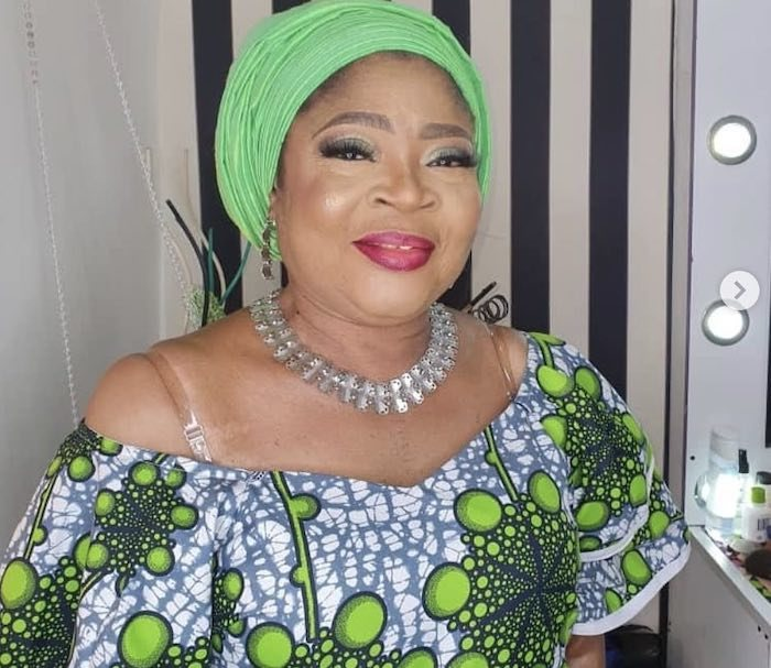 Legendary Fuji Singer, Queen Salawa Abeni Nude Photos Exposed Online By A Man Trying To Blackmail Her (See Photos)