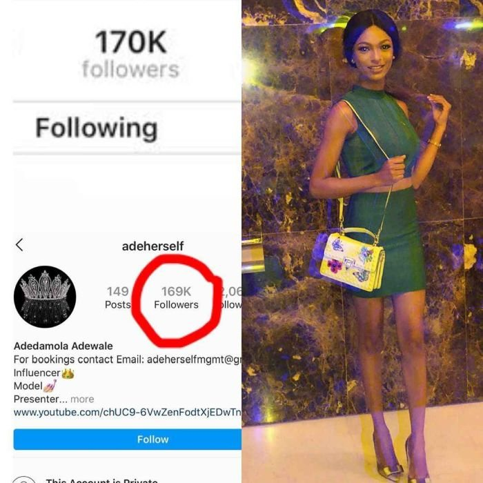 E DON HAPPEN!! Popular IG Influencer, Adeherself Loses Over 1000 Instagram Followers Hours After Her Arrest