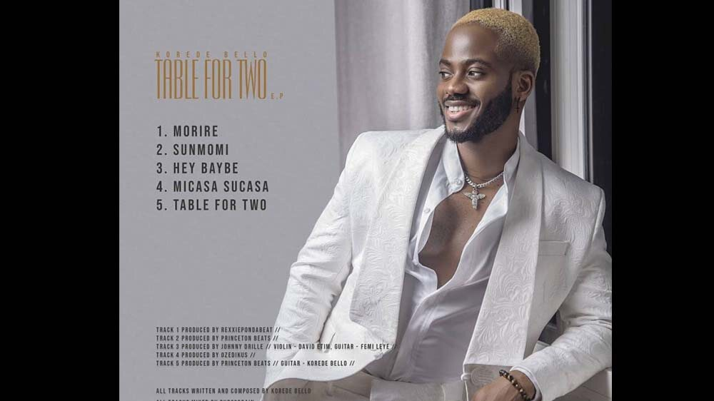 Korede Bello Makes Comeback into Music with New EP