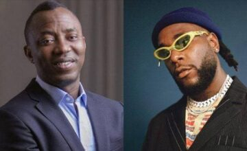 Twitter Users Drags Burna Boy For Turning Down Sowore's Protest Offer