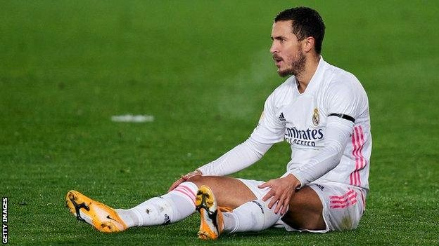 Eden Hazard suffered another injury setback.(Read More)