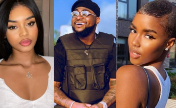 Davido Accused of Vacationing with Two British Models While Chioma was Heavily Pregnant