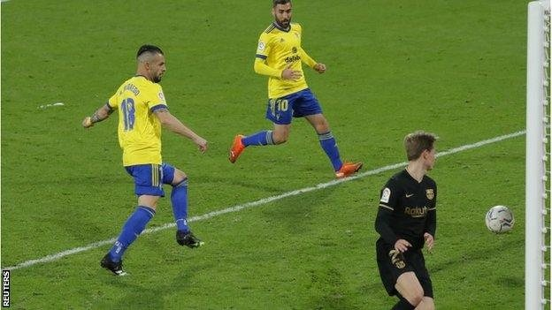Cadiz beat Barcelona for the first time in La Liga since.(Read More)