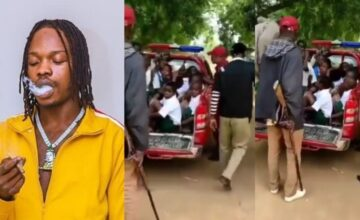 Naira Marley Reacts Angrily As Amotekun Arrests Youngsters For Choosing Him as Role Model