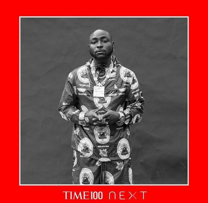 Davido Named One Of The Most Influential People In The World