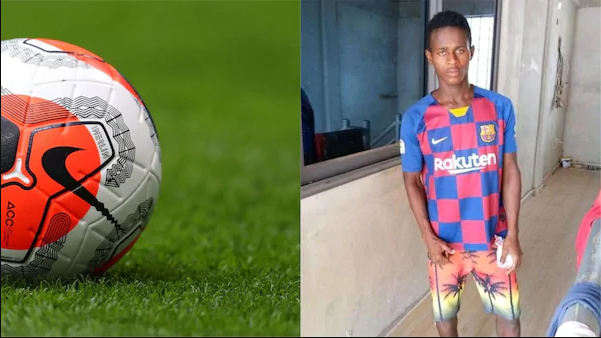 SAD! Young African Footballer Dies after Suffering Head Injury on Pitch
