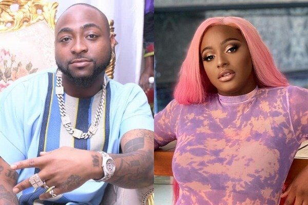 Davido Reacted To DJ Cuppy Dragging His Boy, IsrealDMW To Court