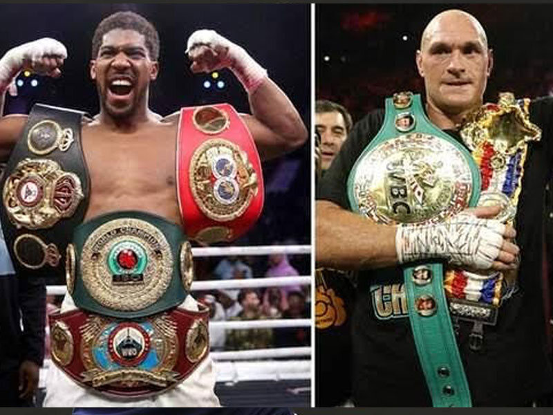 Anthony Joshua To Fight Tyson Fury In Full Force As Boxing Legend Pledges To Help Train Him