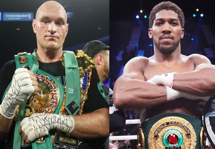 BREAKING: Anthony Joshua and Tyson Fury Have Signed A Two-Fight Deal