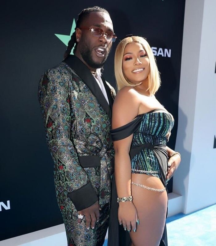 E DON SPOIL? Stefflon Don Deletes Pictures Of Her Boyfriend, Burna Boy From Her Instagram Page