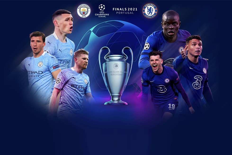 LIVE STREAM: Manchester City Vs Chelsea FC – UCL FINAL 2021