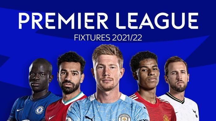 BREAKING NEWS!! Premier League 2021/2022 Fixtures Are Out (Click Here)