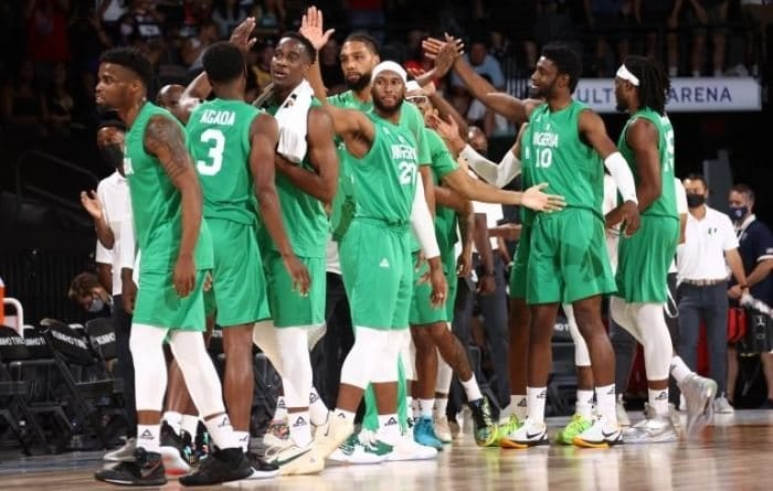 Nigerian Basketball Team Observes One-Minute Silence For Sound Sultan (Watch Video)