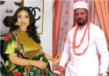 Prince Kpokpogri, Tonto Dikeh's ex-lover, has demanded that the actress undergo a drug test for smoking and heavy drinking.