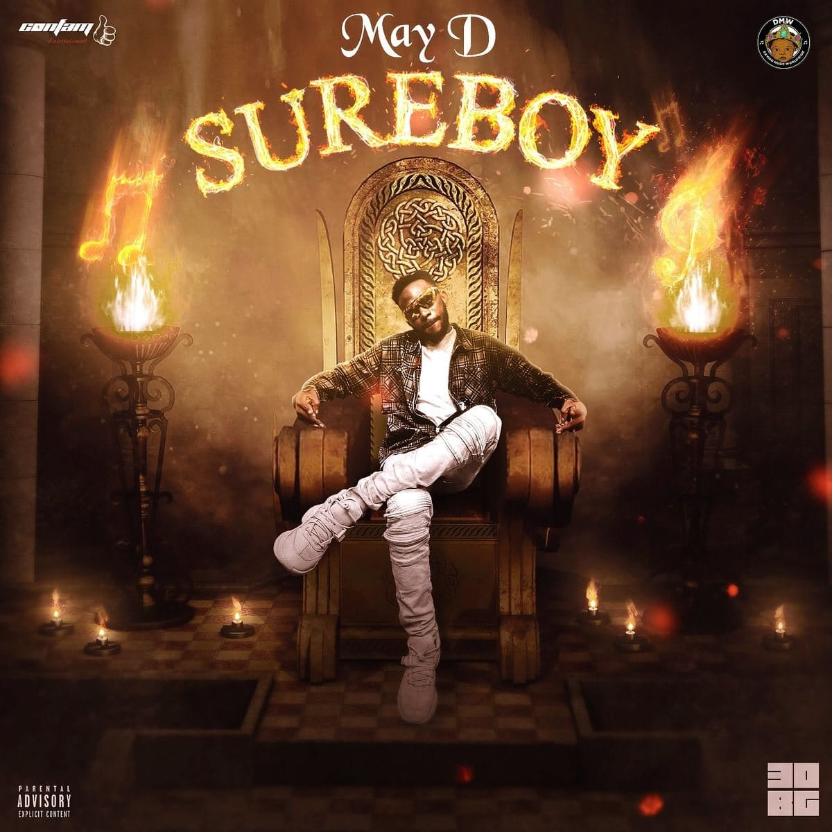 May D ft. Peruzzi – By Force