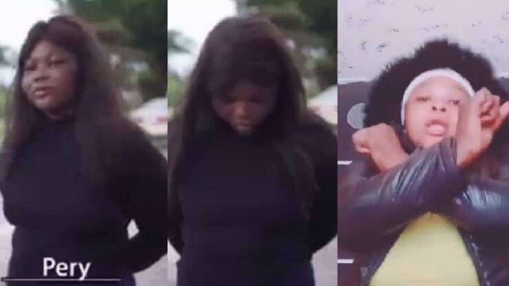 """""""I Made The Video To Gain Followers"""" – Viral Tiktok Lady Who Was Brutalized By Suspected Cultist For Miming Their Song Finally Speaks (See Video)"""